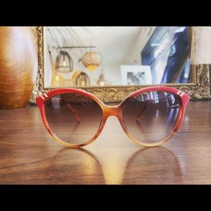 Vintage Chloé Sunglasses - Red Frame
